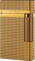 S.T.Dupont Ligne 2 16284 gold plated carré
