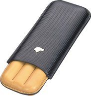 Cohiba cigar case leather 3pcs purera