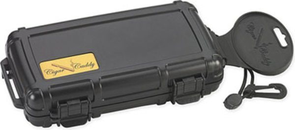 Cigar Caddy travel humidor 5 cigars