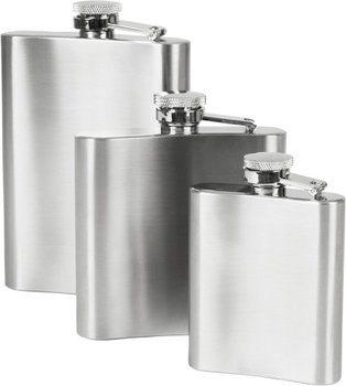 Sticlă de buzunar din oțel inoxidabil 180 ml