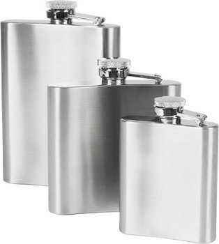 Sticlă de buzunar din oțel inoxidabil 90 ml
