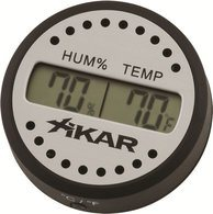 Xikar digital hygrometer round photo 100