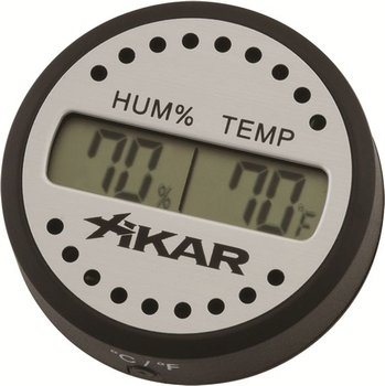 Xikar digital hygrometer round <&&IMAGE&&> 100