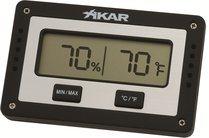 Xikar Digital Humidor Hygrometer Firkantet