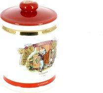 Romeo y Julieta porcelain humidor jar