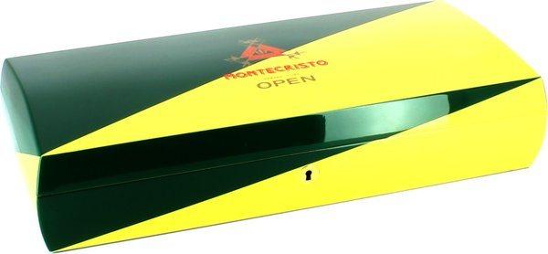 Montecristo Open humidori keltainen/vihreä