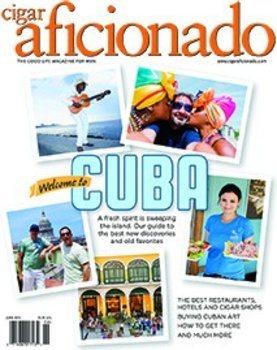 Cigar Aficionado -lehti toukokuu/kesäkuu 2015