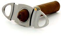 Adorini cigar cutter oval high-grade steel <&&IMAGE&&> 100