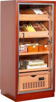 拉文纳120豪华雪茄柜棕色