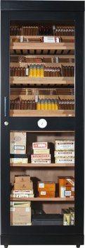 adorini Roma (black) electronic humidor cabinet