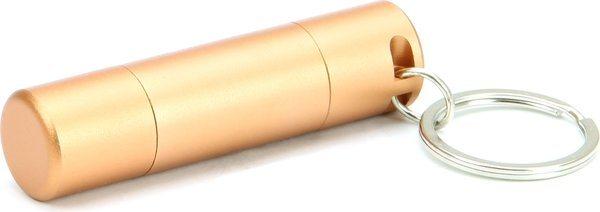 Dvojitý ořezávač na doutníky Adorini - čepel Solingen vyrobená v Německu - barva mědi