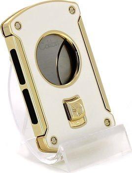 Colibri Slice Cigar Klipper Hvid/Guld
