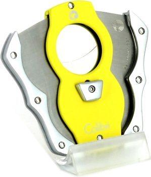 Colibri Cut sikarileikkuri Yellow/Silver