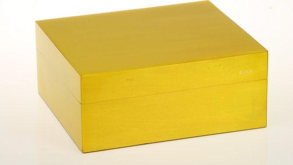 Siglo Humidor S koko 50 keltainen