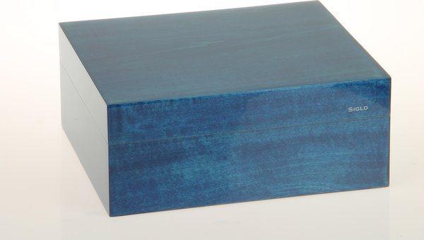Siglo Humidor S koko 50 sininen