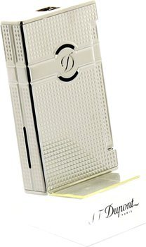 S.T. Dupont Ligne 2 Torch Lighter Fin Diamand-Hovede Palladium