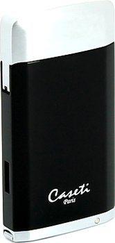 Caseti lighter black / chrome