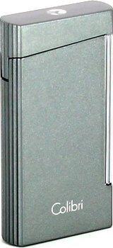 Colibri Voyager sikarisytytin Metallic Grey
