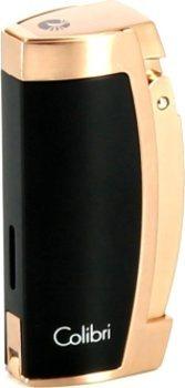 Colibri Enterprise 3 Cigar Lighter Sort/Rose Guld