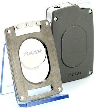 Xikar Ultra Combination Cutter/Lighter Set Gunmetal