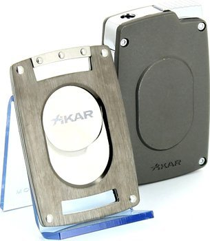 Xikar Ultra Combination Cutter/Lighter Set Gunmetal