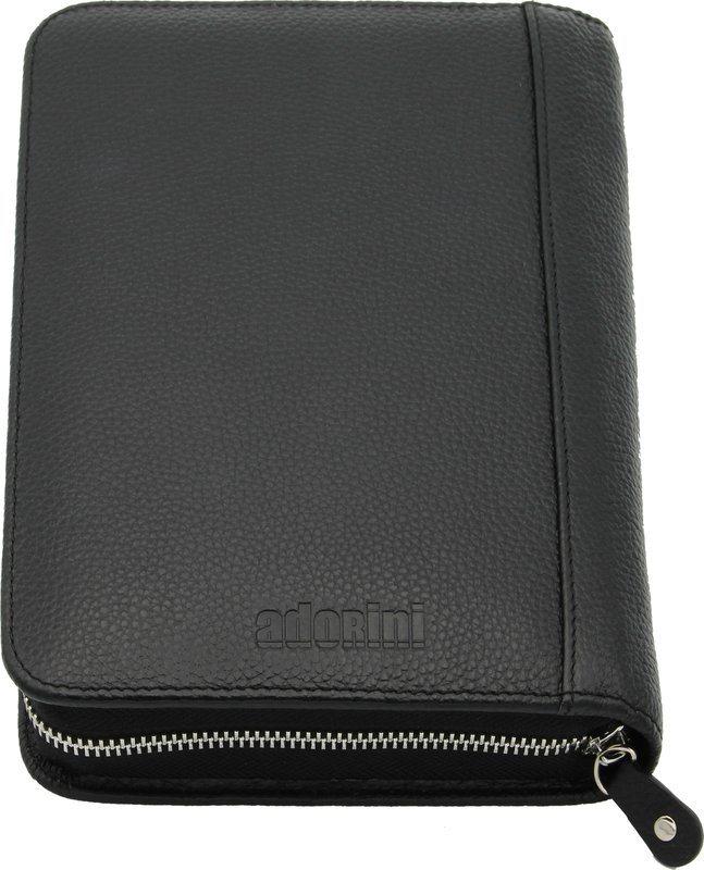 54c9748af6 adorini Cigar Bag Real Leather Black Stitching