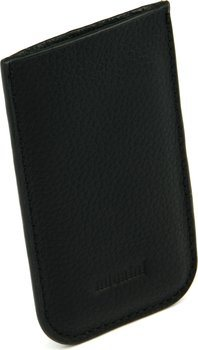 Crna kožnata futrola adorini - rezač kartica 70