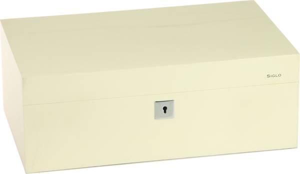 Хумидор Siglo размер M 75 бял