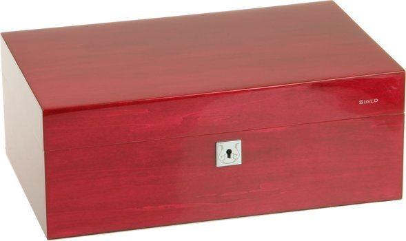 Ružičasti humidor Siglo M veličina 75
