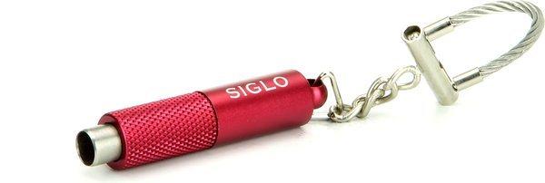 Metalik crveni rezač i privjesak Siglo