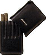 Lecerf Cigarillo Case Leather black for 6 Cigarillo