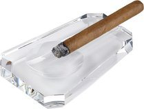 Cigar ashtray trapezoidal