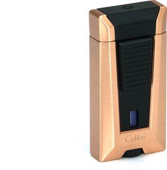 Isqueiro Colibri Stealth 3 - Dourado Rosê escovado