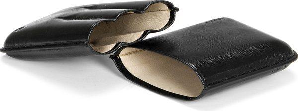 Colibri Robusto Cigar Case Black Leather