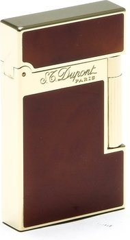 Isqueiro S.T. Dupont Atelier - Laca chinesa marrom claro