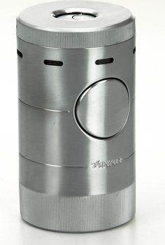 Brichetă masă Xikar Volta argintie