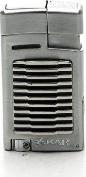 Zapalovač Xikar 523BK Forte stříbrný