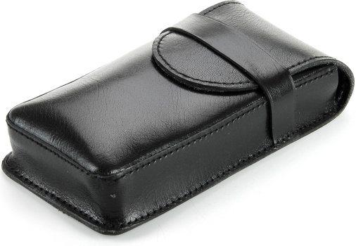 Crna kožnata futrola Buffalo za 3 cigare