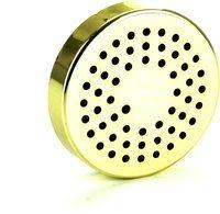 Zvlhčovací systém s kruhovým pěnovým zvlhčovačem zlaté barvy