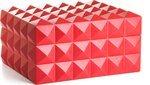 Crveni humidor Colibri Quasar za 50 - 75 cigara - ograničeno izdanje
