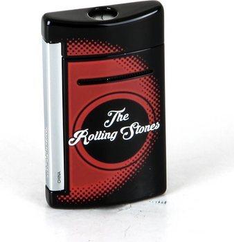 ST Dupont miniJet lighter 10110 - Rolling Stones begrenset opplag sort