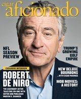 Cigar Aficionado magazine OKT 15