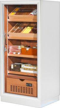 Ravenna 120 Deluxe Humidor Cabinet White