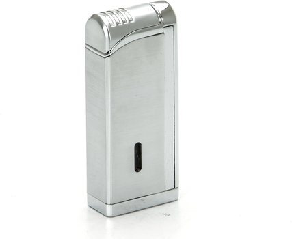 Tycoon Movie Jet III Cigar Lighter med Multi Punch Krom