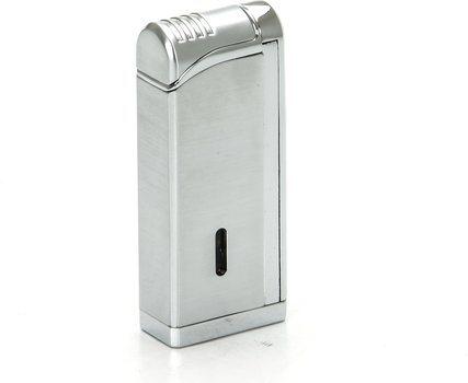 Tycoon Movie Jet III Sigar lighter med Multi Punch krom