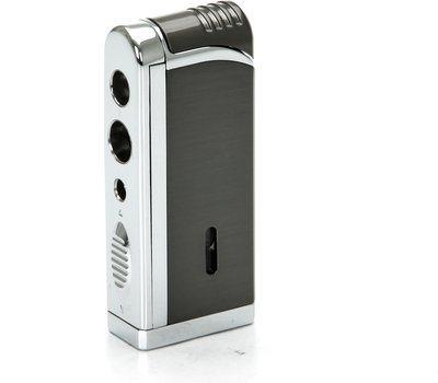 Tycoon Movie Jet III Cigar Lighter med Multi Punch Pistolmetal