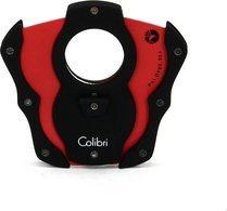 """Cortador Colibri """"Cut"""" Guilhotina dupla - Preto/Vermelho"""