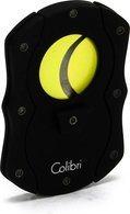 """Cortador de charuto Colibri """"Cut"""" - Preto/Amarelo"""