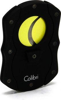Colibri 'Cut' Cigar Cutter Black/Yellow