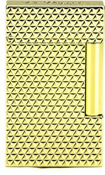 S.T. Dupont Ligne 2 Lighter 16433 Pointe-de-feu Yellow Gold